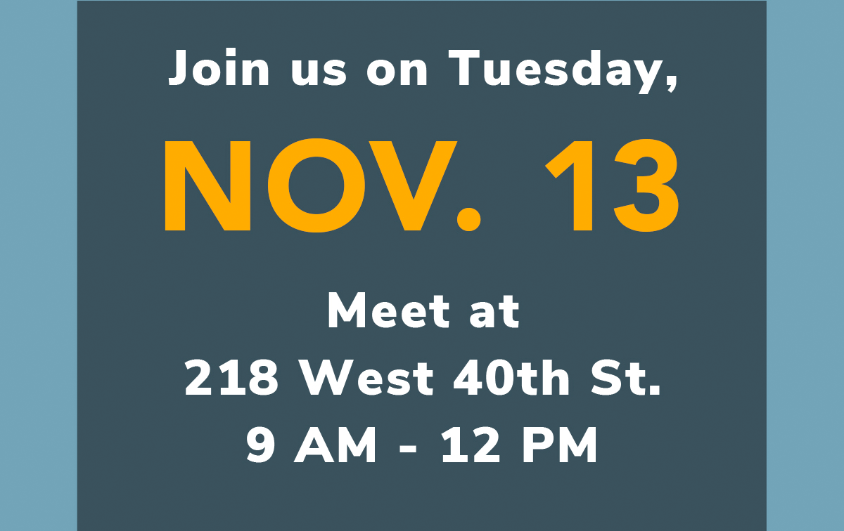Join us on November 13th